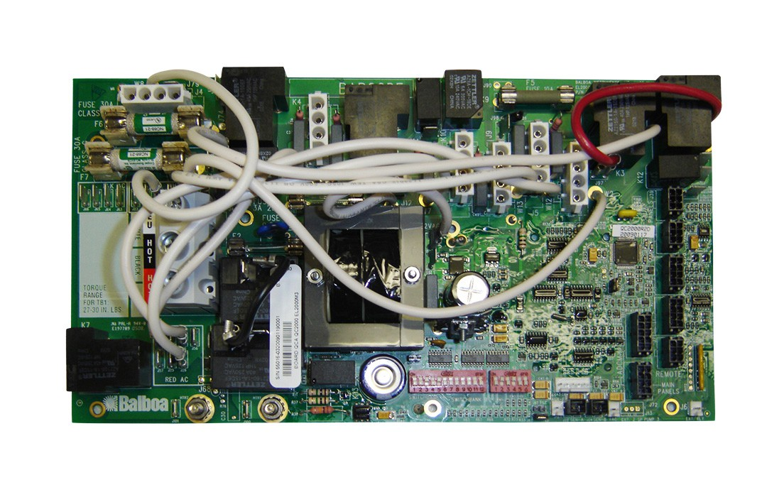 Board: QC2000  QCA Spas W/Metal Case