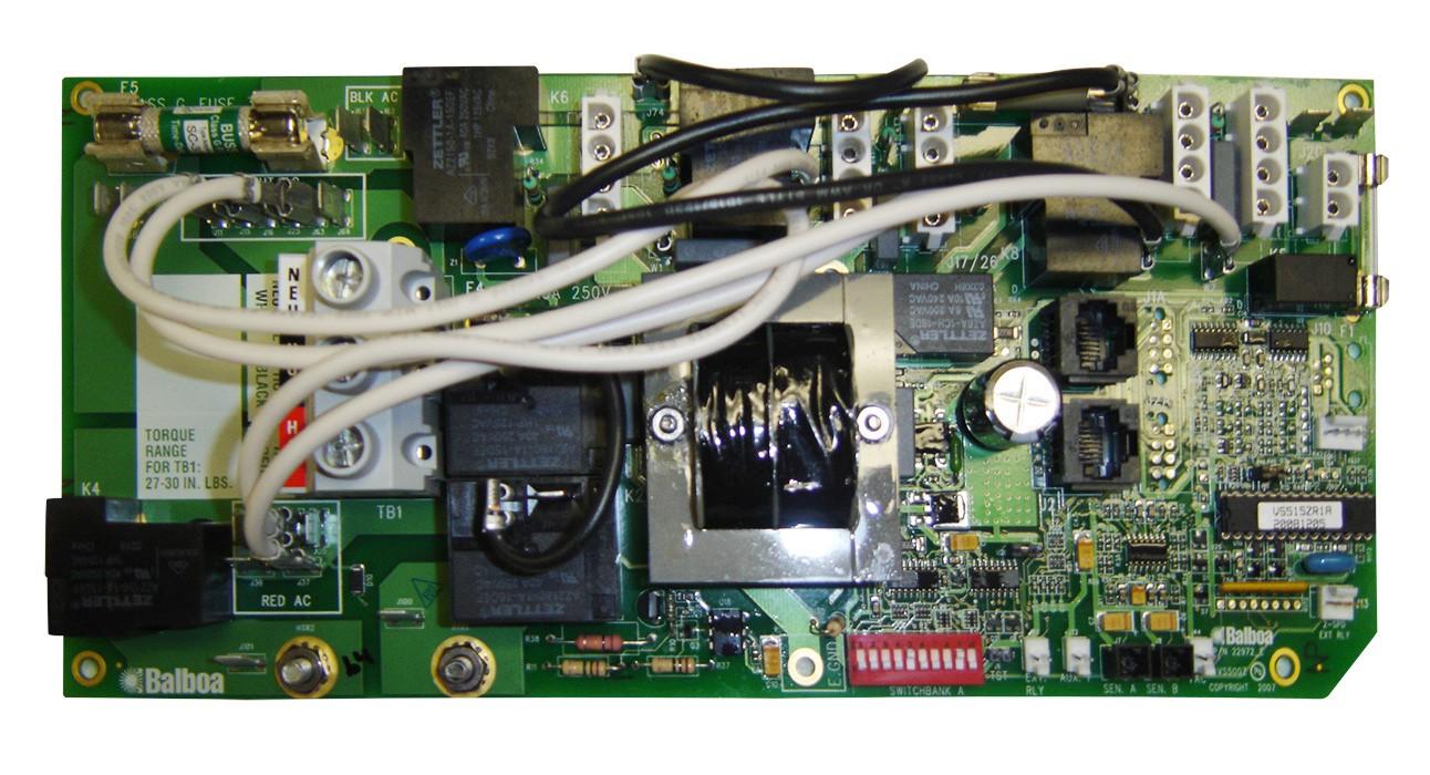 Board: QC515Z  QCA Spas circuit board for QCA Spas systems computer.