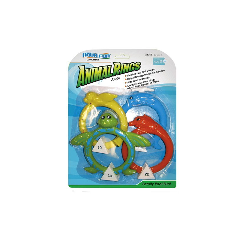 Soft Dive Animal Rings (72712)