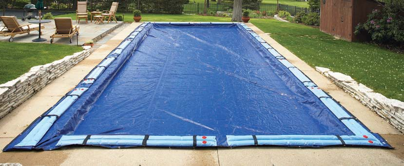 Winter Covers: In Ground Rectangular Pool Winter Cover 25 x 50