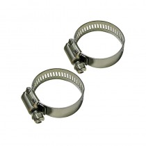 "Medium Stainless Steel Clamps 1 3/4"" - Set of 2 (36696)"