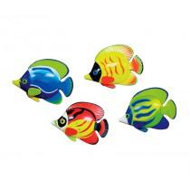 Set of 6 pool diving discs - Fish