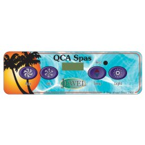 Panel: Jewel 4 Button QCA Factory Topside Control WIth Overlay