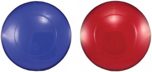 Blue & Red Spa Light Lenses