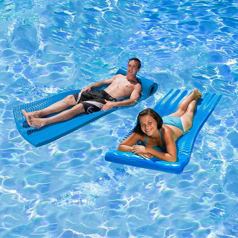 Soft Tropic Comfort Mattress Blue Wave