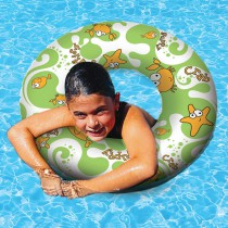 "Aqua Fun 24"" Print Swim Ring"