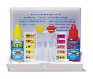 3-Way Hot Tub or Pool Water Test Kit (22240)
