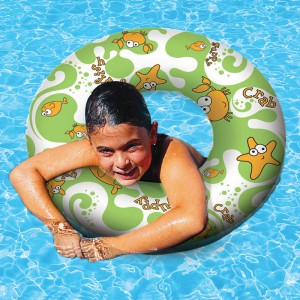 "Aqua Fun 30"" Print Swim Ring"