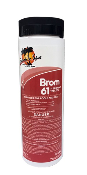 Swim N Spa Sanitizer & Shock: Brom 61 (1.5 LB)