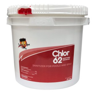Swim N Spa Sanitizer & Shock: Chlor 62 (25 LB)