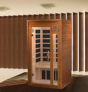 Dynamic DYN-6106-01 Low EMF 1-2 Person FAR Infrared Sauna