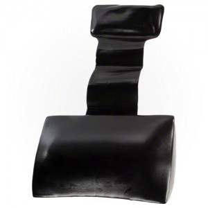 Pillows: Black Weighted Spa Pillow (8510516)