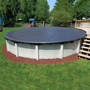 Winter Covers: Above Ground Oval Pool Winter Cover 18 x 33